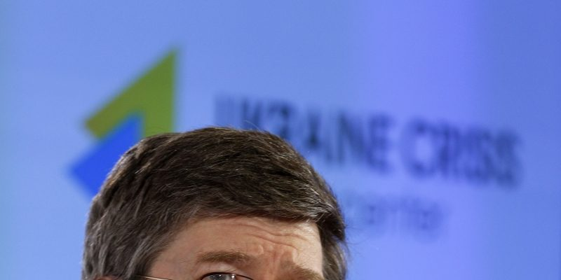 Jeffrey D. Sachs: Ukraine's long term structural challenge is achieving economic growth in the face of Russian hostility