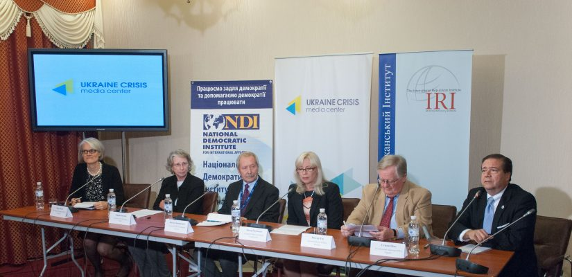 Ukraine's elections process is peaceful, orderly and credible despite ongoing conflict, NDI delegation finds