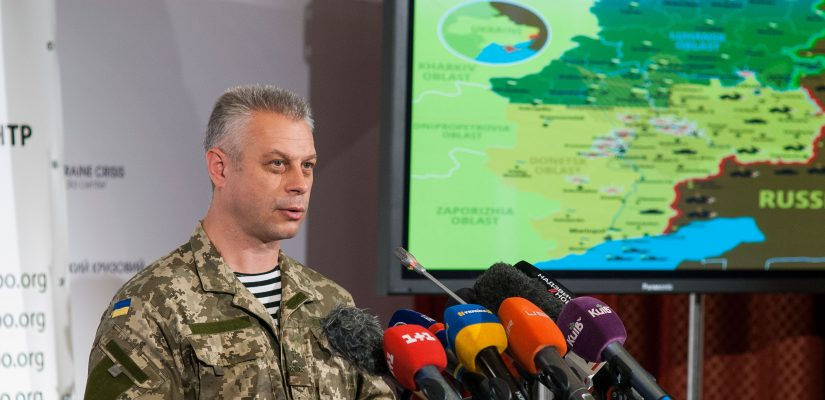 National Security and Defense Council: Ukrainian military stopped subversive-reconnaissance group outside of ATO zone