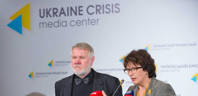 European Lawmakers in Kyiv Pledge Continued Support