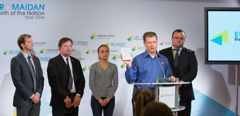 EuroMaidan Canada Project Delivers E-Books to Hospitals and Orphanages