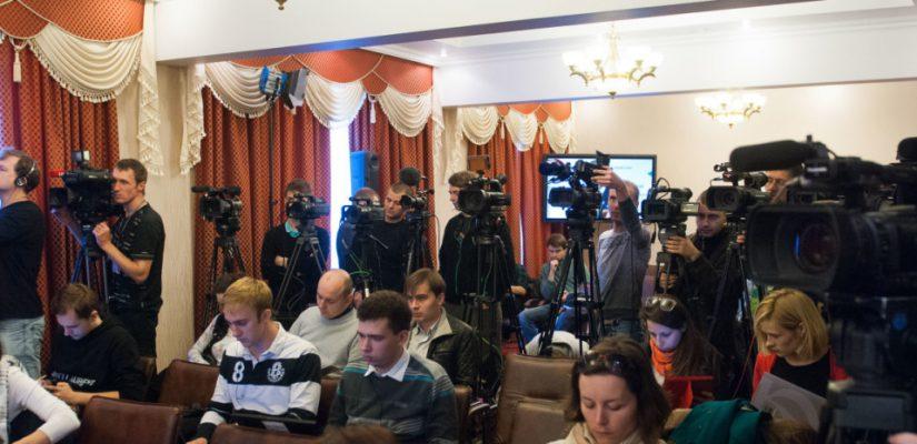 Schedule of press briefings in Ukraine crisis media center for October 24, 2014