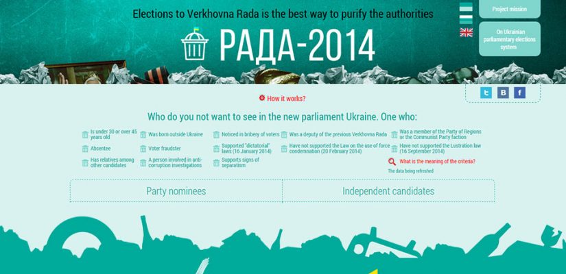 RADA-2014. History starts with a choice!