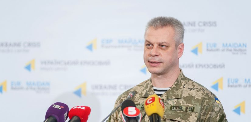 Andriy Lysenko: Cargos of weapons and ammunition keep coming from the territory of Russia
