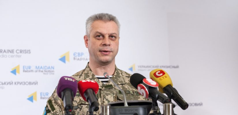 Andriy Lysenko: Militants shelled checkpoint of the National Guard of Ukraine with Grad