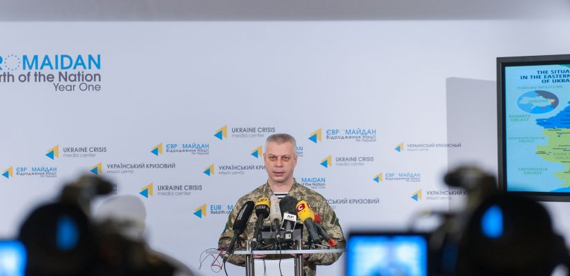 Andriy Lysenko: There are over 9 thousand servicemen of the Russian Federation Armed Forces in the East of Ukraine
