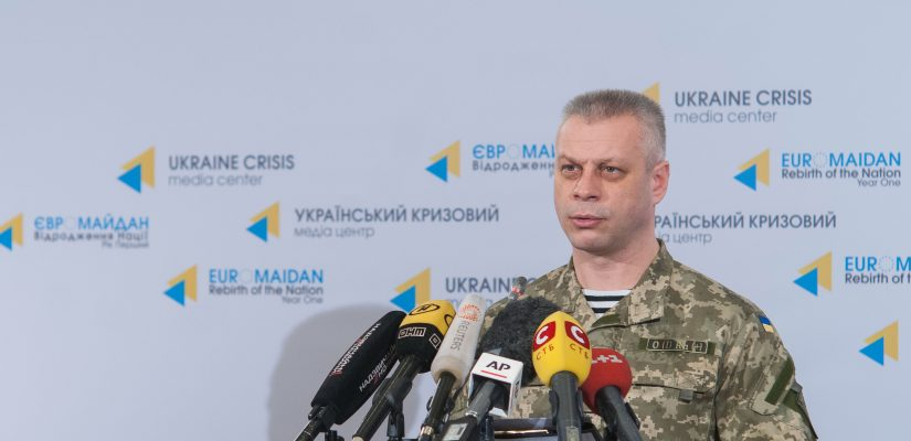 Andriy Lysenko: In the last day no Ukrainian servicemen were killed in action