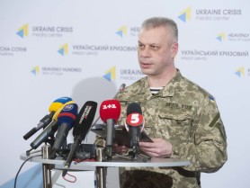Andriy Lysenko: Least ceasefire violations observed on frontline in last 24 hours.