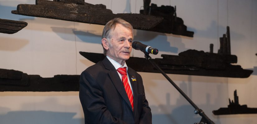 Mustafa Dzhemilev. Special UCMC Project Commemoration the Annexation of Crimea