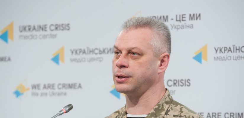 Andriy Lysenko: Militants shell Ukraine's 29th military blockpost from Grad multiple rocket launcher