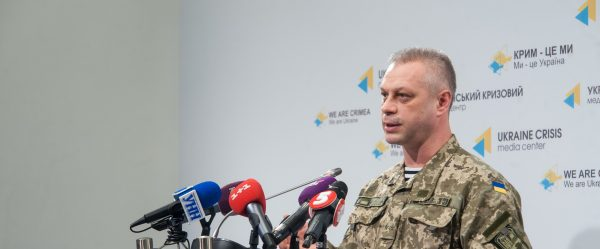 Andriy Lysenko: Ukrainian Army did not suffer any casualties over the last day