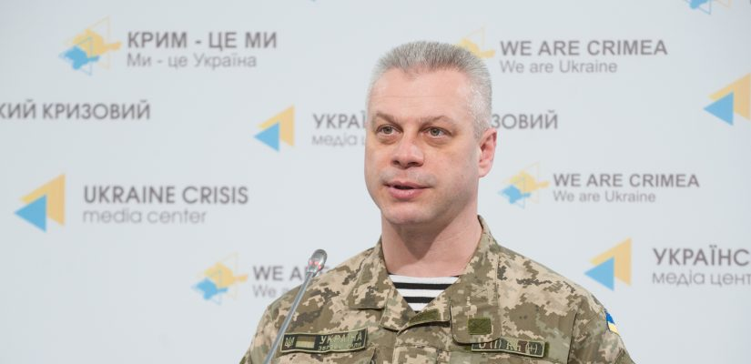Andriy Lysenko: Russia-backed militants attack Ukrainian troops from tanks and Grad MRLS