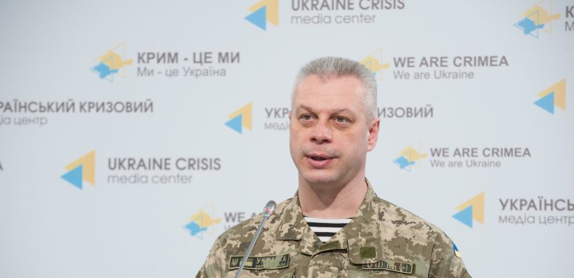 Andriy Lysenko: Pro-Russian militants use heavy weapons in Donetsk and Mariupol sectors
