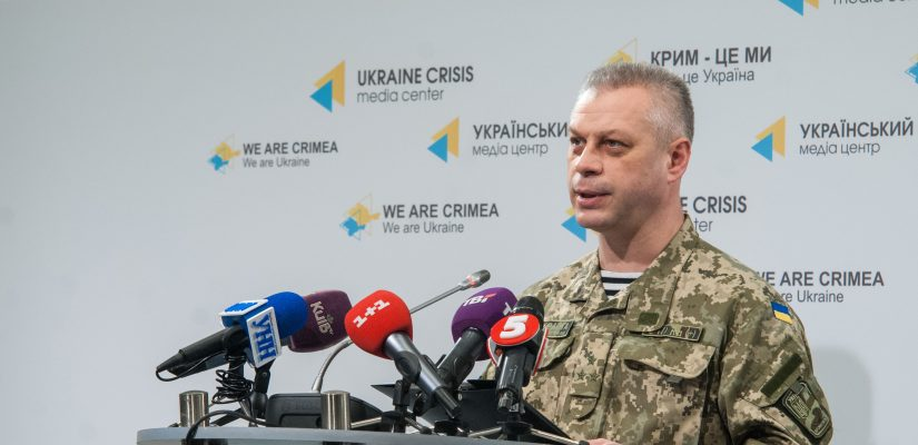Andriy Lysenko: Ukrainian servicemen uncover large arms reserves in Donbas