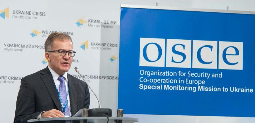 OSCE: We are urging all parties to demilitarize Shyrokyne