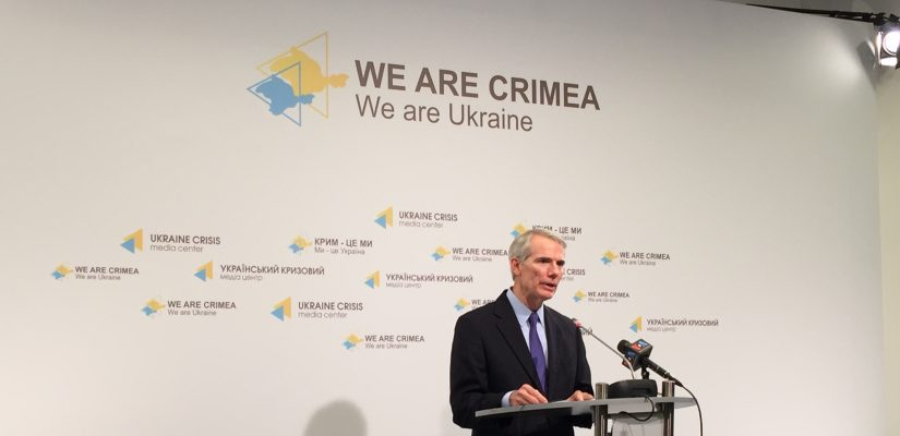 Senator Rob Portman: I will personally fight for military assistance to Ukraine