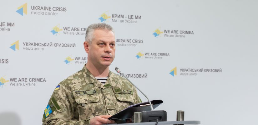 Andriy Lysenko: Pro-Russian militants use heavy weapons, three civilians die as a result