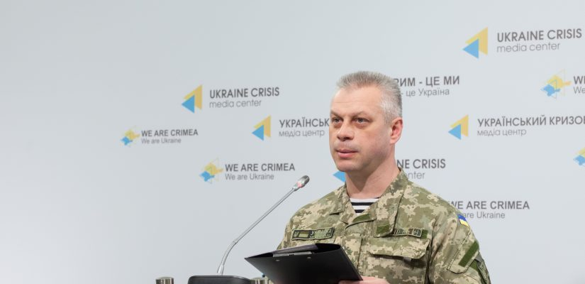 Andriy Lysenko: Three Ukrainian servicemen released from militant captivity