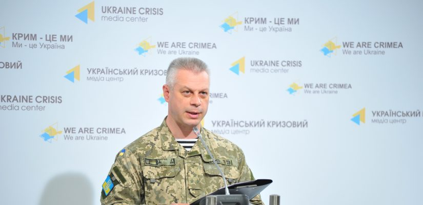 "Andriy Lysenko: OSCE registers movement of 12 T-64 tanks in ""LPR"" controlled areas"
