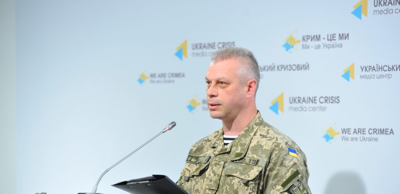 Andriy Lysenko: Russia-backed militants shell Ukrainian positions in Donetsk sector from mortars and artillery