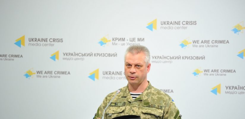 Andriy Lysenko: Ukrainian soldiers repelled an attack by 400 militants near Starohnativka