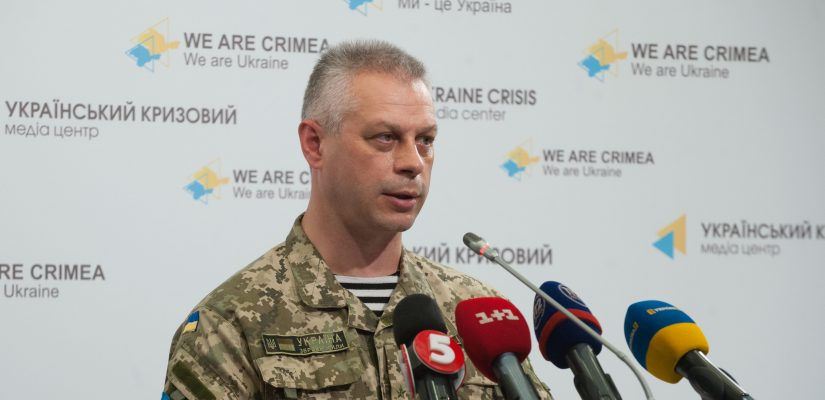 Andriy Lysenko: Militants wounded two civilians in Shchastya, Luhansk region