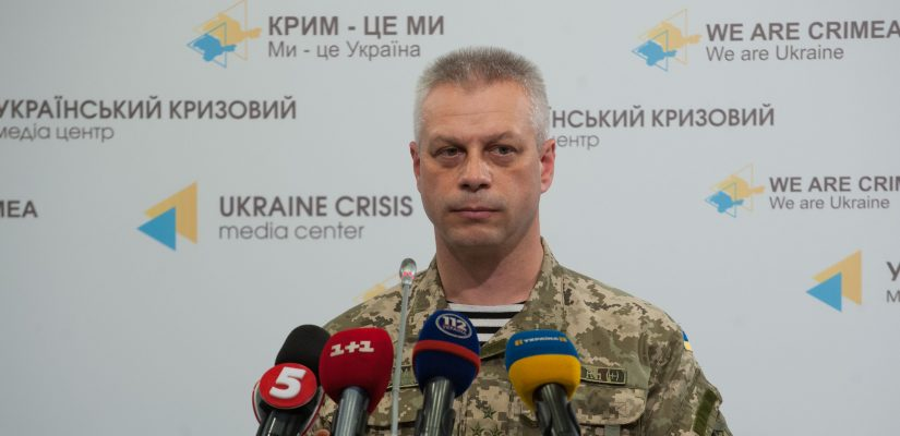 "Andriy Lysenko: JCCC registers ""DPR"" and ""LPR overwhelming ceasefire violations"