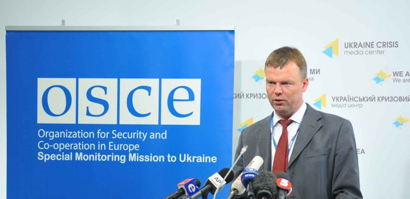 "SMM notes a ""worrisome increase"" in ceasefire violations in Eastern Ukraine – OSCE Special Monitoring Mission"