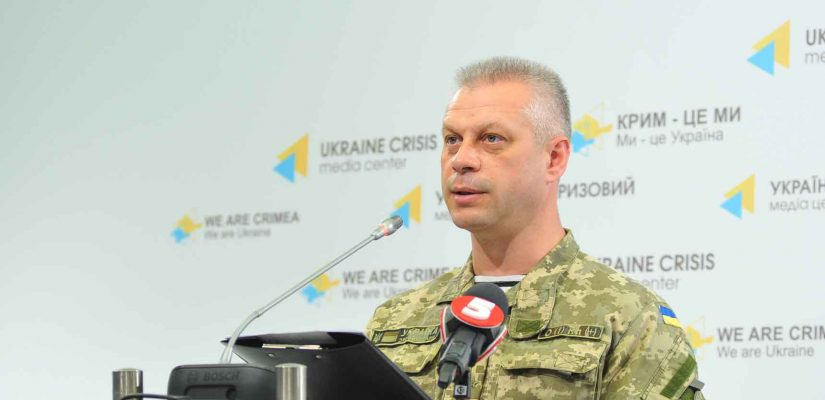 Andriy Lysenko: Militants deploy tanks to the frontline in the area of the Donetsk airport