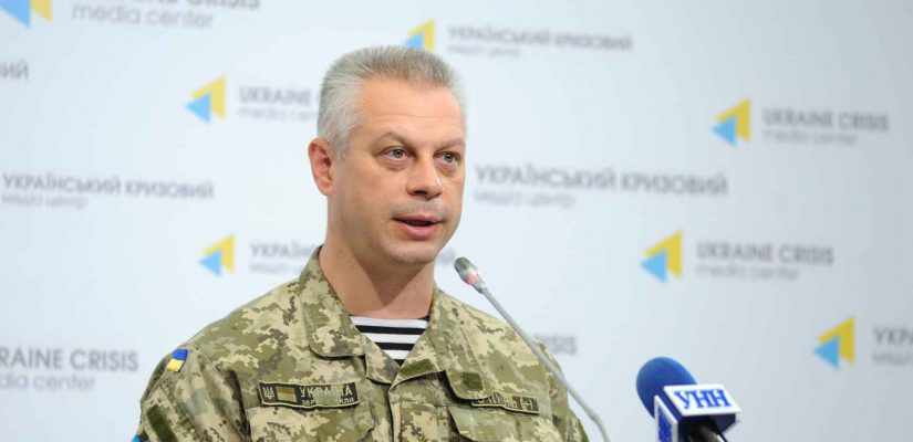 Andriy Lysenko: no use of heavy weapons observed along the frontline, Ukrainian troops incur no loss