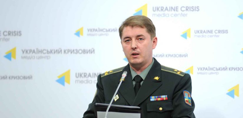 Oleksandr Motuzyanyk:  Militants use reactive artillery in the Mariupol sector