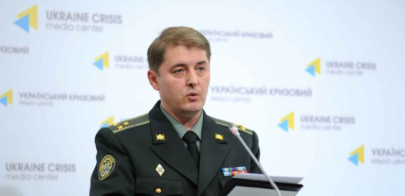 Oleksandr Motuzyanyk: Ukrainian Armed Forces incurred no loss yesterday, no heavy weapons used