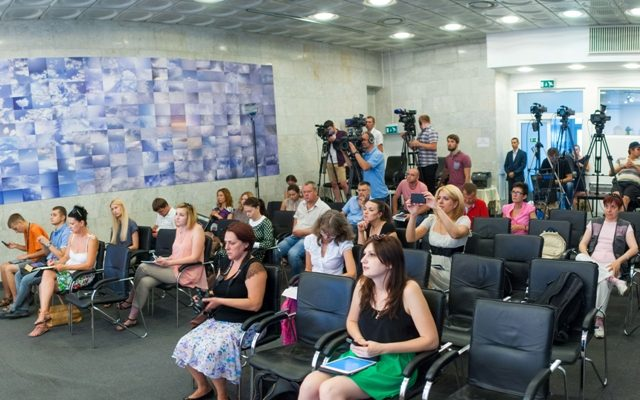 Schedule of press briefings in Ukraine Crisis Media Center for August 11, 2015