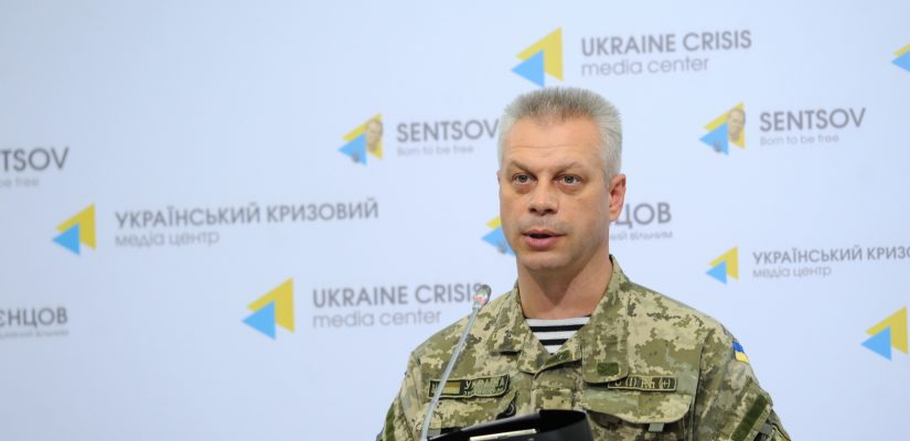 Andriy Lysenko: Withdrawal of cannons below 100 mm starts in Donetsk sector