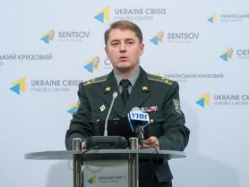 Colonel Oleksandr Motuzyanyk: Militants located in Kominternove shot at Sakhanka village with Grad rockets