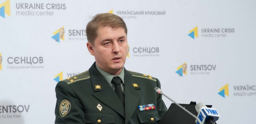 Oleksandr Motuzyanyk: militants used small arms and grenade launchers in the Donetsk sector yesterday, Ukrainian Armed Forces incurred no casualties