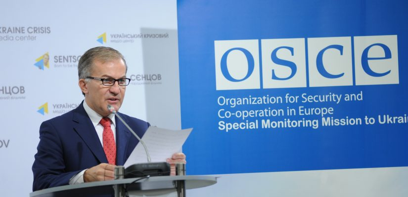 "SMM observes Ukraine and so-called ""LPR"" withdrawing tanks and artillery pieces as was agreed in Minsk – OSCE Special Monitoring Mission"