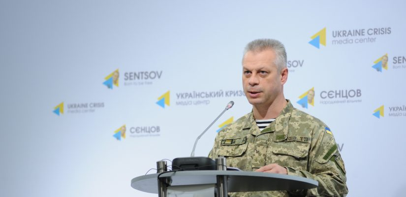 Andriy Lysenko: Militants launched over 50 mortar shells at Ukrainian positions in Donetsk and Mariupol sectors