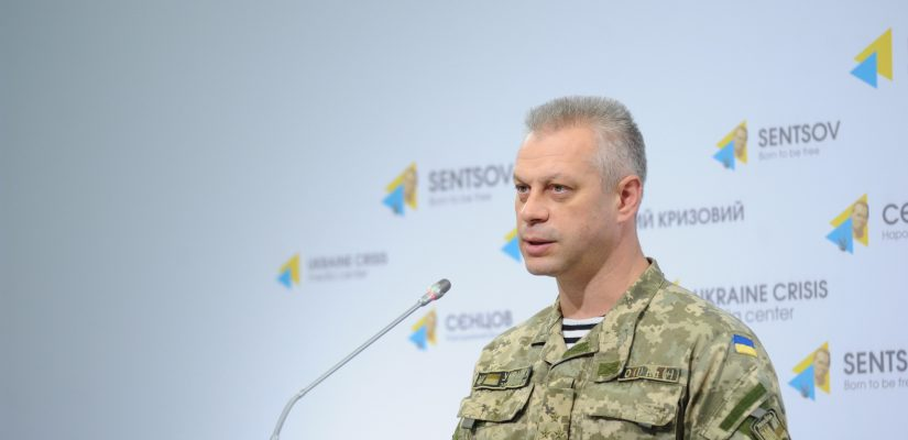 Colonel Andriy Lysenko: Over the day, more than 250 projectiles, including from 120mm mortars, fired on ATO positions. The most difficult situation is in Zaitseve