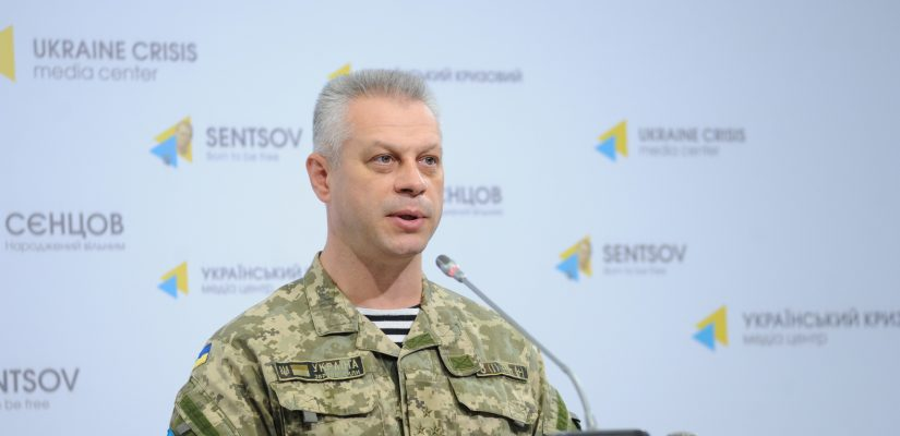 Militants make record number of attacks since August 2015: fire 81 times upon Ukrainian positions – Colonel Andriy Lysenko