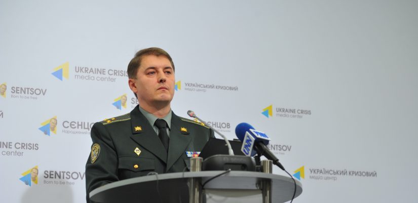 Most ceasefire violations including ones with heavy weapons take place in Donetsk sector – Oleksandr Motuzyanyk