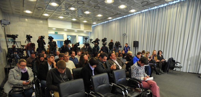 Schedule of press-briefings in Ukraine Crisis Media Center for April 20, 2016