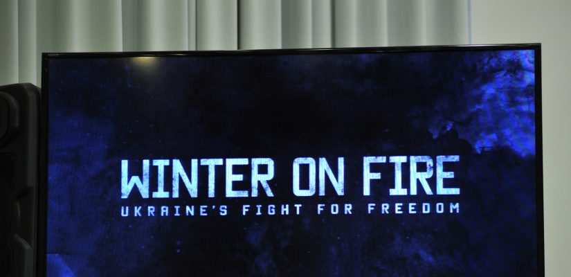 Film director Yevhen Afineevskyi:  'Winter on Fire' is a monument to the heroes who gave their lives on Maidan and those who withstood