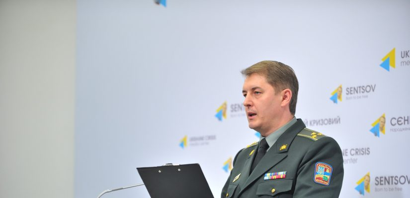 Oleksandr Motuzyanyk: ATO troops register 30 attacks in Mariupol sector, six involve use of heavy armor
