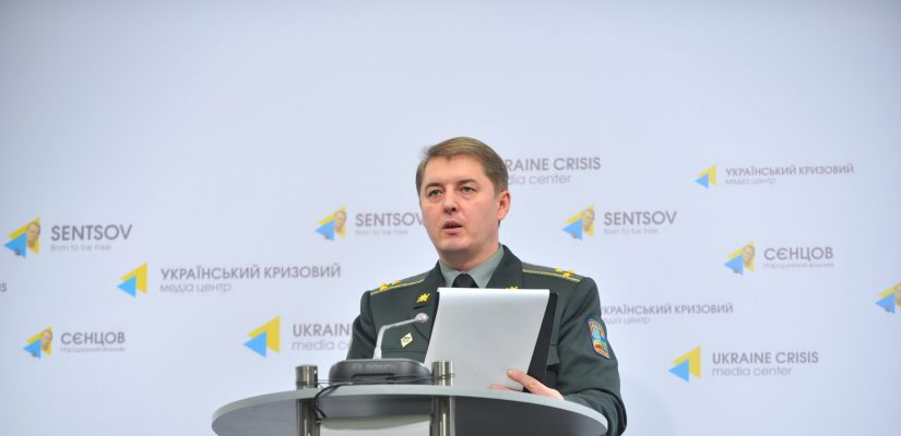 Colonel Oleksandr Motuzyanyk: Militants violate armistice in all the sectors. Ukrainian Armed Forces incur no losses in combat