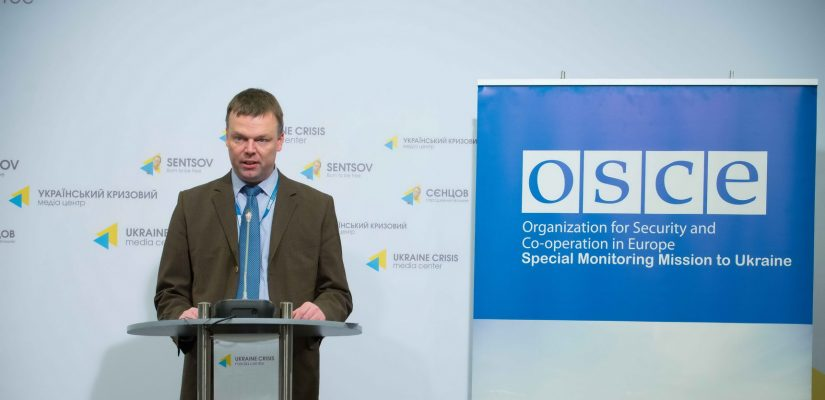 Level of violence dropped by half in ATO area – OSCE SMM