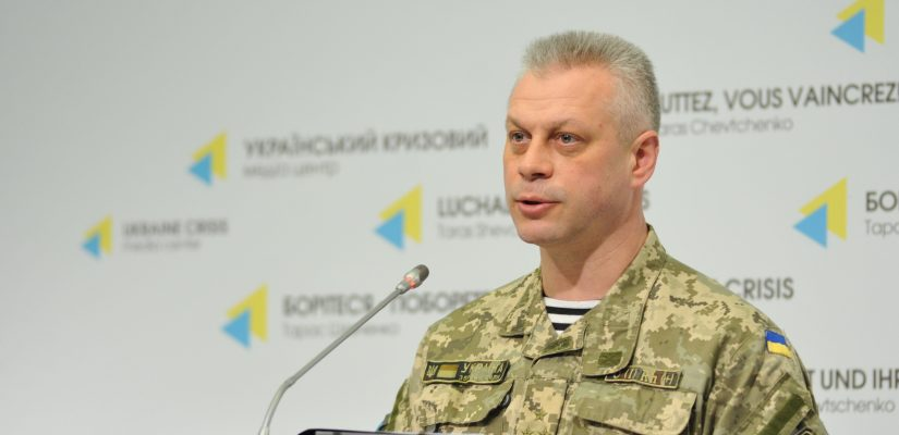 Colonel Andriy Lysenko: ATO troops defeat two subversive reconnaissance groups near Mariinka