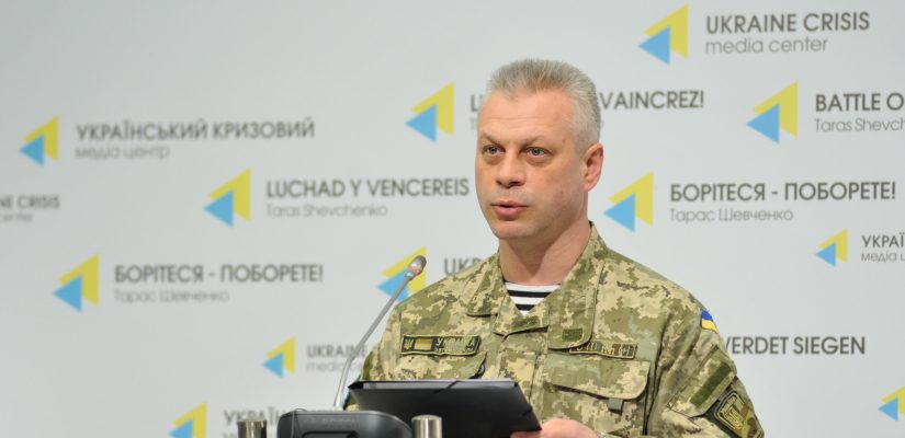 Colonel Andriy Lysenko: Militants shell ATO troops' positions near Novotroitske using 120-mm mortar launchers