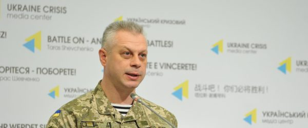 Colonel Lysenko: A building ruined in Novhorodske in militants' attack