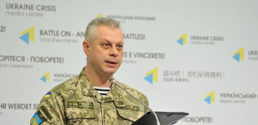 Colonel Andriy Lysenko: Militants are active in Mariupol sector, ATO forces respond with fire.